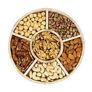 Tray- Raw Nuts Round Tray