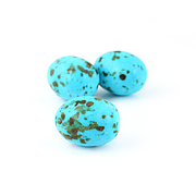 Chocolate Eggs with Hazelnut Praline (Blue)